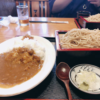 そば カレーライスセット(うえ竹 )