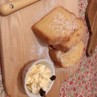 豆乳とはちみつのパウンドケーキ(はちくまカフェ )