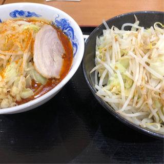 辛ラーメン 野菜ダブル(ジャンクガレッジ)