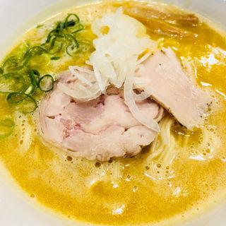 濃厚醤油白湯(RAMEN 風見鶏 阿倍野 (ラーメンカザミドリ))