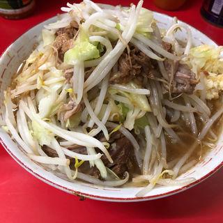 ラーメン 小 + ニンニク(ラーメン二郎 松戸駅前店 (らーめんじろう))