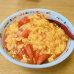 トマトタマゴ丼