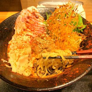 鯛坦麺(激辛)(鯛担麺専門店 抱きしめ鯛)