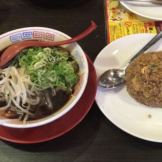 中華そば+焼きめし(新福菜館 秋葉原店 )