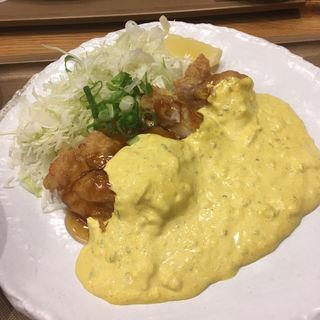 若鶏もも肉のチキン南蛮定食(おむすびのGABA 秋葉原店 )