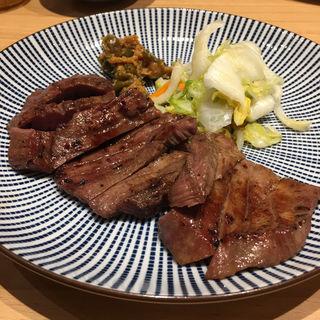 牛たん定食(炭焼牛たん東山 中部国際空港セントレア店)