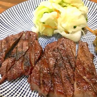 東山定食(炭焼牛たん東山 仙台本店 (【旧店名】 うまい牛たん東山))