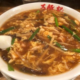 サンラータン麺(万豚記 三軒茶屋店 (ワンツーチー))