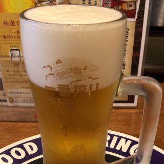 ビール生 中