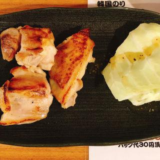 鶏 もも焼き 塩(立呑み屋さん 千林大宮店)