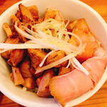チャーシュー丼(中華そば ココカラサキゑ)