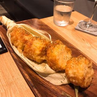 トウモロコシの天ぷら(EBISU FRY BAR)