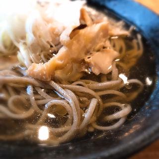 かほく冷たい肉そば(四季旬菜居酒屋 華音)