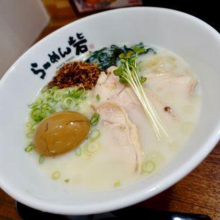 冷やし砦+煮卵(らーめん 砦 大国町店)