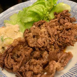 ロース肉タレ焼き