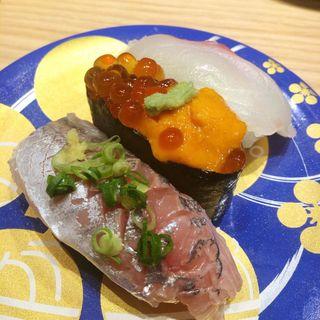 おまかせ3品盛り(もりもり寿し イオンモール大阪ドーム店 )