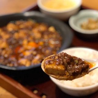 麻婆豆腐ランチ(四川料理と小吃 奏煖 福島)