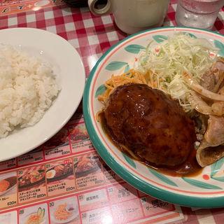 ハンバーグ&生姜焼き(キッチンセブン 街のハンバーグ屋さん 浅草橋店 )