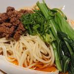 成都式汁なし坦々麺(六坊担担面)