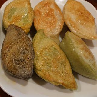 白龍・青龍ミックス餃子定食(魯肉飯・鶏肉飯)セット(PAIRON (パイロン))