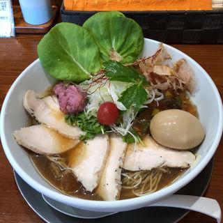 冷やし追鰹らぁ麺(暁 製麺 (アカツキ セイメン))