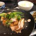 日替わりランチ(鶏肉の海老味噌風味揚げ)