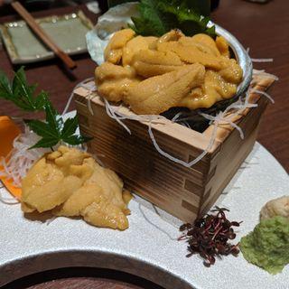 雲丹のお造り(ときしらず 品川店)