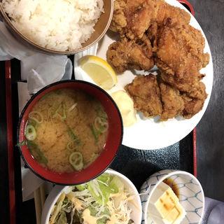唐揚げ定食(毛利や 串よし 京橋店 )