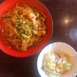 シーフード太麺