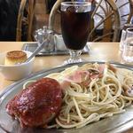 ハンバーグスパゲティセット