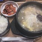 参鶏湯定食(韓美膳DELI マークイズみなとみらい (ハンビジェデリ))