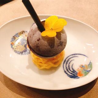 パイナップルジュース チョコドーム(珀狼)