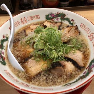 豚骨醤油の中華そば(中華そば 丸京)