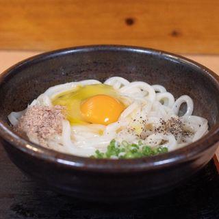 オリーブかま玉うどん(うどん棒 本店 (うどんぼう))