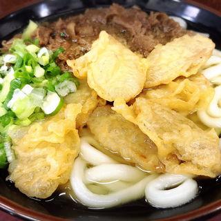 肉ごぼう天うどん(立花うどん (たちばなうどん))