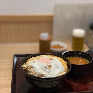 黒豚スペシャルかつ丼(銀座 梅林 本店)