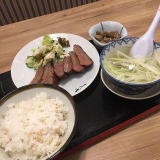 牛たん極定食 3枚6切