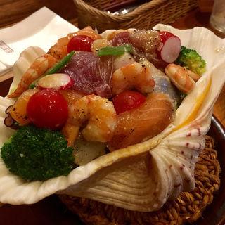 シーフードサラダ(珊瑚礁 本店)