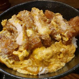 カツ丼セット(釜揚饂飩詫間)
