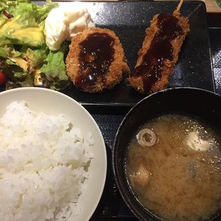 本日の肉ランチ(生 本まぐろ 一心)