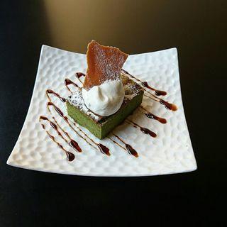 抹茶のガトーショコラ(カヤバ珈琲 )