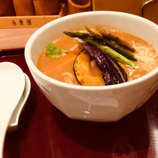 野菜カレーうどん(古奈屋 ランドマークプラザ店 (こなや))