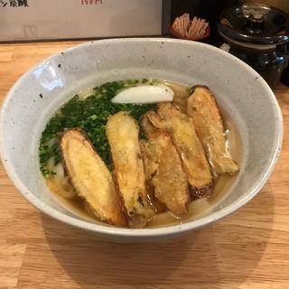Bセット(ゴボウ天うどん+明太ご飯)(饂飩 おおた)