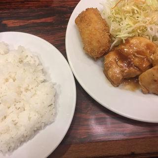 若鶏生姜焼ランチ (ライス・スープ付)
