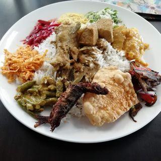 スリランカカレー(サンライズレストラン)