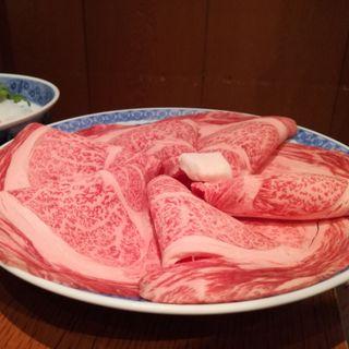 すき焼き(豚捨 (ブタステ))
