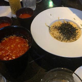 アラビアータつけ麺(オアシスバー 茅場町店 )