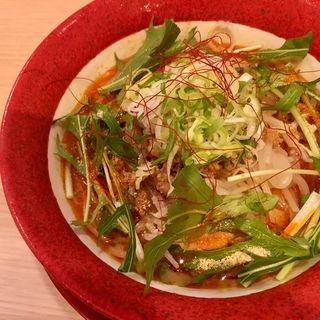 冷し担々麺(みそ吟 札幌本店)