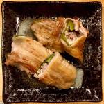 ピーマンチーズ豚肉巻