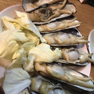 あげまき貝( 長浜ラーメン 屋台ともちゃん 本店)